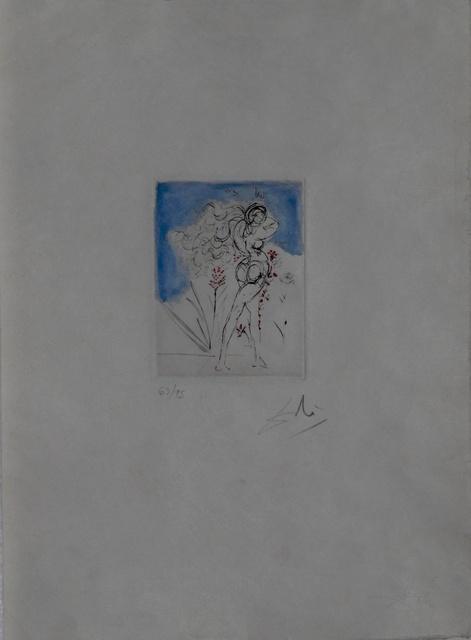 Salvador Dalí, 'Petites Nus (From Appollinaire) J', 1972, Fine Art Acquisitions