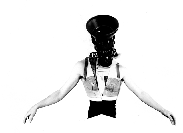 ", 'Camerawoman from ""Phantom Limb"",' 1988, Anglim Gilbert Gallery"
