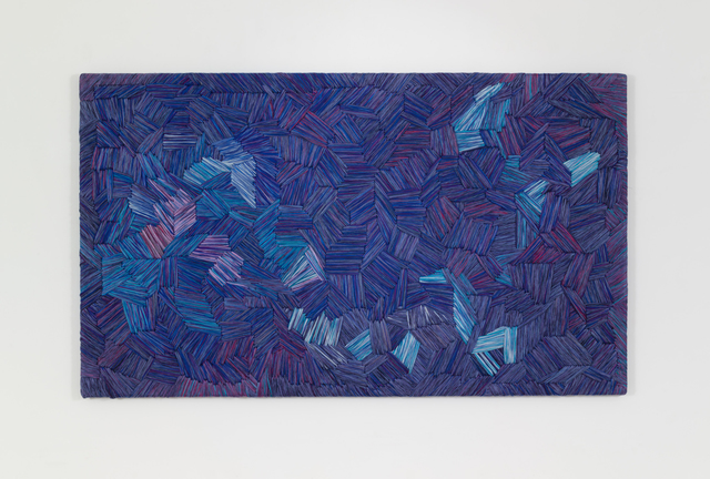 , 'Blue Gros Point,' 1990s, Demisch Danant