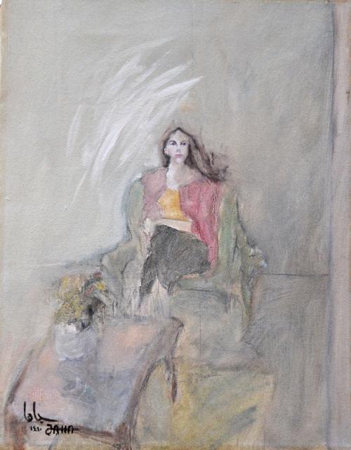 , 'Portrait,' 1990, Hafez Gallery