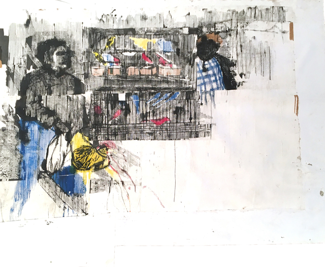 , 'Chisionekwe Kuisa Gwenhre Mucage,' 2019, Tiwani Contemporary
