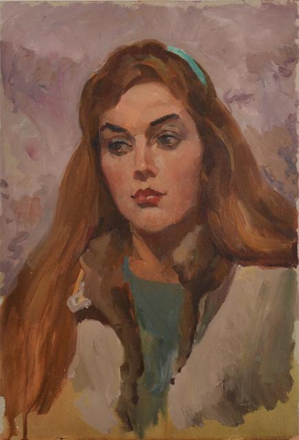 Shorokhov Anatoly, 'Girl named Yana', 1987, Art-Impression