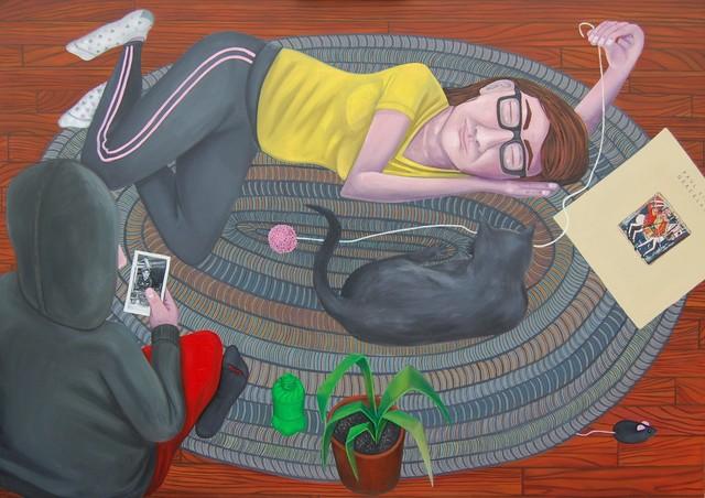 , 'Gray Hearts,' 2019, 532 Gallery Thomas Jaeckel