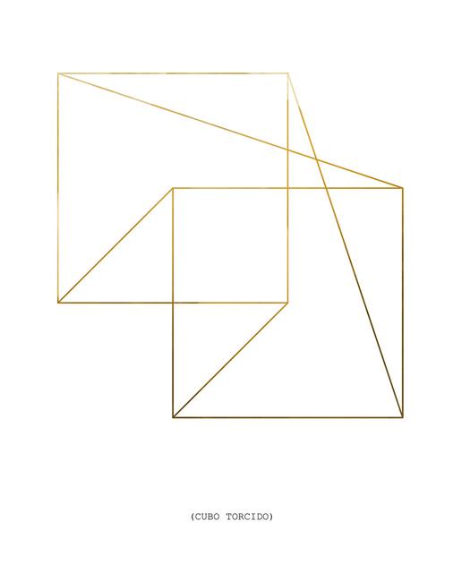 , 'Cubo Torcido,' 2017, Travesia Cuatro