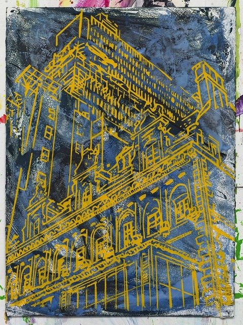 , 'Three buildings,' 2017, David Krut Projects