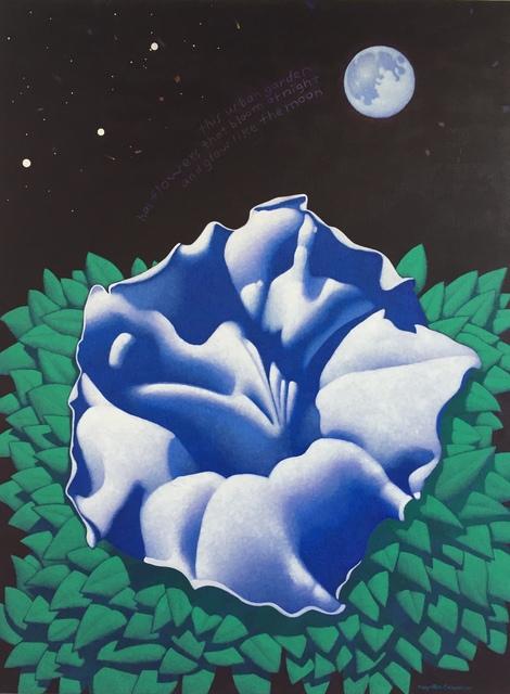 Ray-Mel Cornelius, 'Moonflower with Haiku', 2019, Ro2 Art