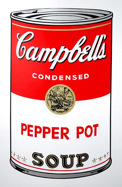 , 'Campbell's Soup I: Pepper Pot Soup (FS II.51),' 1964, Gormleys Fine Art