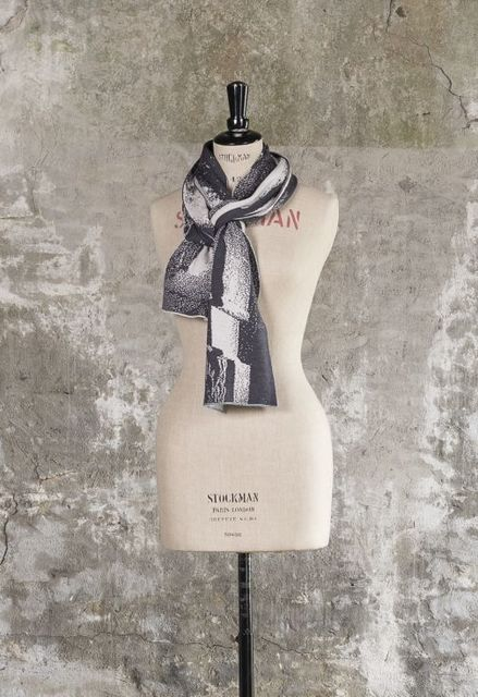 , 'the byre scarf,' , Bullseye Projects