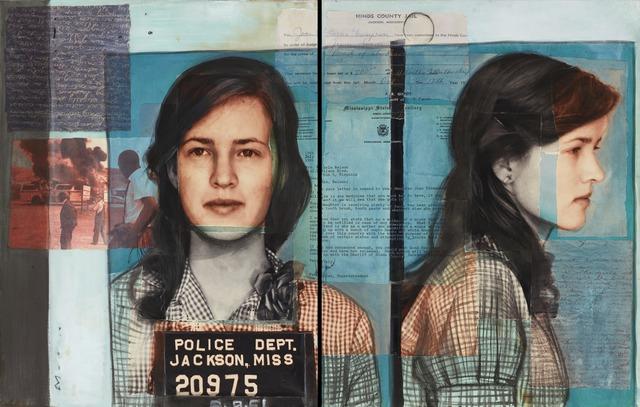 , 'Joan Trumpauer Mulholland, Freedom Rider & Civil Rights Activist,' 2015, RJD Gallery