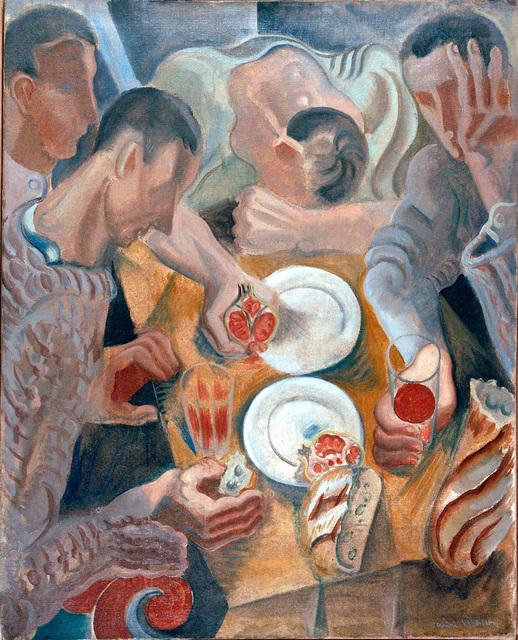 , 'Le Repas,' 1922, Galeria Marc Domenech