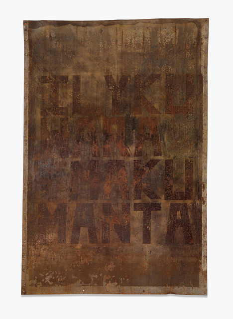 , 'Manta,' 2019, Blackartprojects