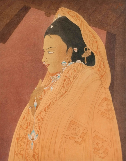 M. A. R. CHUGHTAI, 'Untitled ', 1965-1975, Painting, Ink and watercolour on paper, Eye For Art Houston