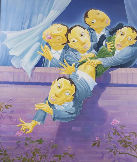 Li Jisen, 'Rose Garden', 2007, Illuminati Fine Art