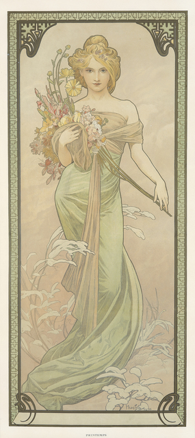 , 'The Seasons / Spring,' 1900, Rennert's Gallery