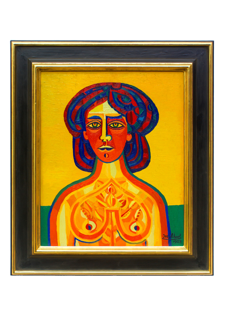, 'Exzentrische junge Frau (Hectic Young Woman),' 1953, Hagemeier