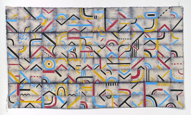 , 'ASCII (CMYK),' 2016, G. Gibson Gallery