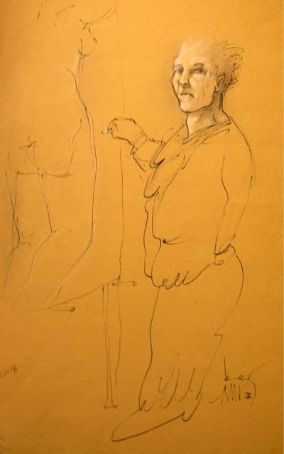 , 'Artist & Model,' 1978, Ford Fine Art