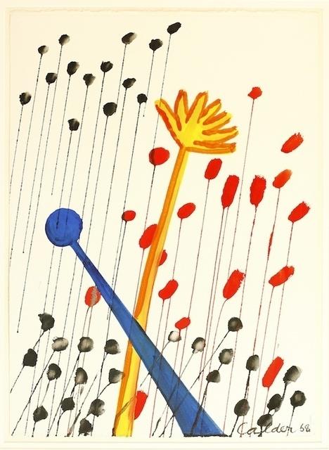 , 'Fleurs Croisees,' 1968, KM Fine Arts