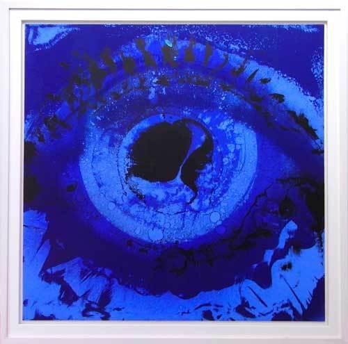 , 'Blue Eye Blue,' 1977, Galerie Kellermann