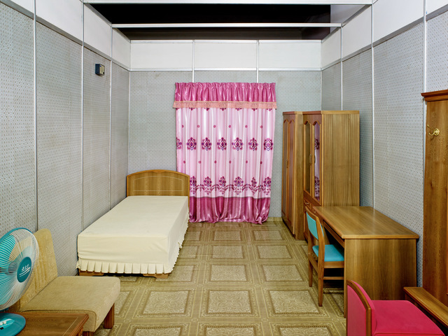 , 'Model Bedroom (Three Revolutions Exhibition, Pyongyang),' 2014, The Ravestijn Gallery