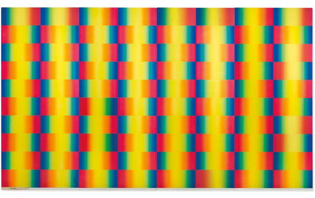 Getulio Alviani, 'Cromia Spettrologica ', 1982, Galleria Ferrari