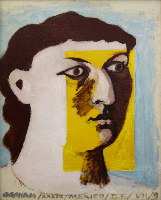 , 'Untitled (Face of a Woman), Portrait of Anni Albers,' 1939, Hollis Taggart Galleries