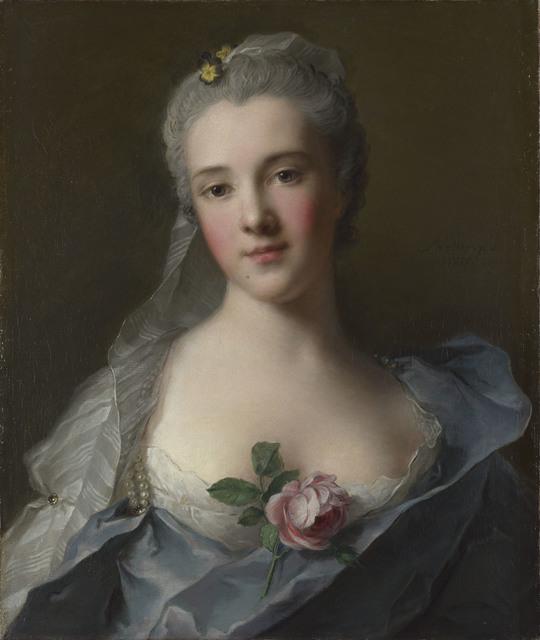 , 'Manon Balletti,' 1757, Kimbell Art Museum