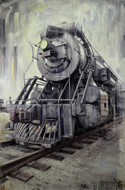 "Valerio D'Ospina, '""U.S. Locomotive""', 2017, The Haen Gallery"