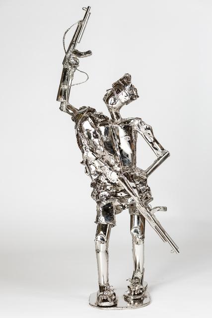 , 'Prick Gun,' 2016, TAFETA