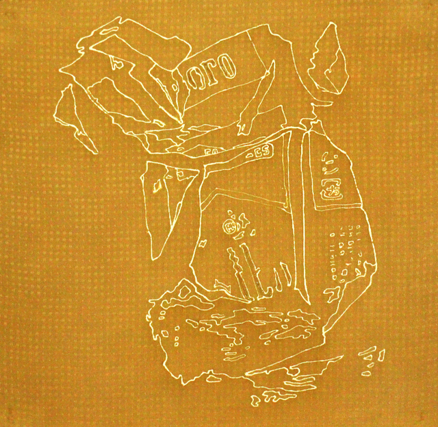 , 'Fossil Silk - Garbege on Street - ,' 2010, Sokyo Gallery