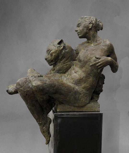 , 'Femme à la panthère,' 2018, Galerie Bayart