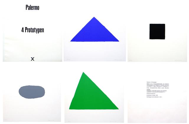 , '4 Prototypen,' 1970, Carolina Nitsch Contemporary Art