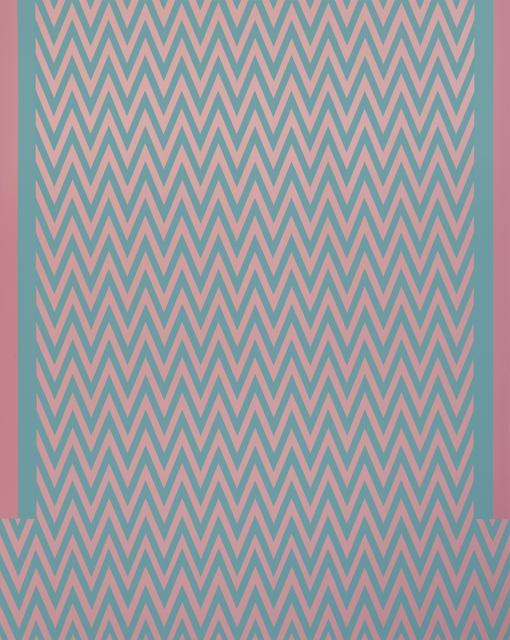 Tess Jaray RA, 'Revue', 2017, Karsten Schubert