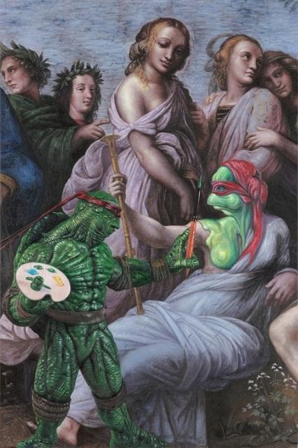 , 'TMNT Raphael,' 2014, Eternity Gallery