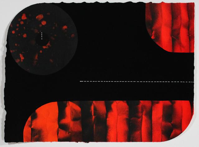 , 'Draperies (Red),' 2018, Adah Rose Gallery
