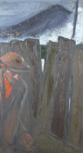, 'The fence,' , Castlegate House Gallery