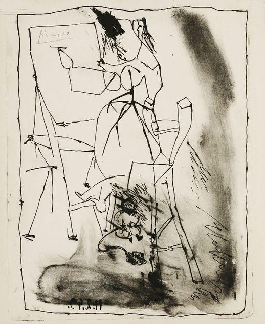 Pablo Picasso, 'La Jeune Artiste', 1949, Sworders