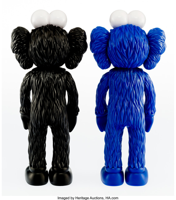 KAWS, 'BFF (Open Edition) (Black and MoMA)', 2017, Other, Painted cast vinyl, Heritage Auctions