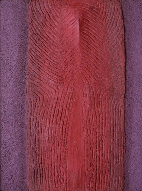 , ' Etude de torse rouge ,' 1971, Galerie Maeght
