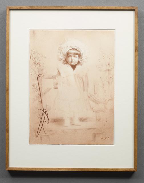 , 'Edgar Degas, 1899,' 2016, Parafin