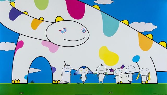 Takashi Murakami, 'Yoshiko and the Creatures from the Planet 66', 2003, MSP Modern