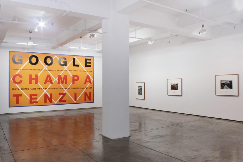 Hamish Fulton, Installation View, 2016