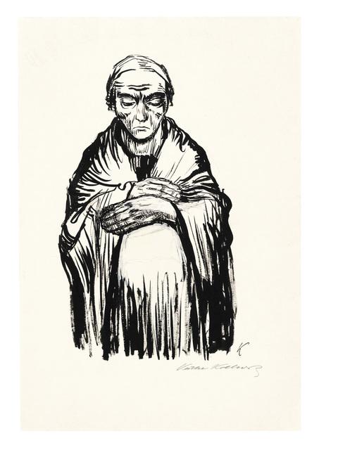 , 'Schwangere Frau,' 1921, Ludorff