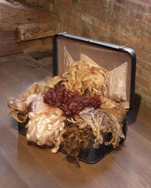 , 'Wig suitcase,' 1990-1999, MARTOS GALLERY