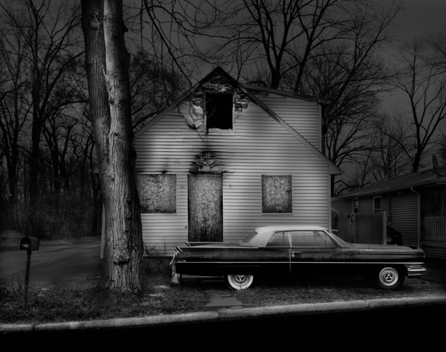 , 'In The Final Throes, New Jersey, Somers Place,' 2011, Holden Luntz Gallery