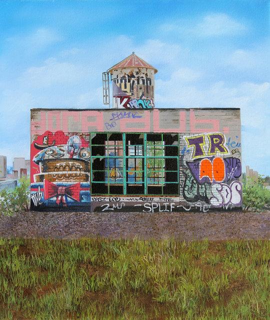 """, '""""Rooftops I"""",' 2015, Hashimoto Contemporary"""