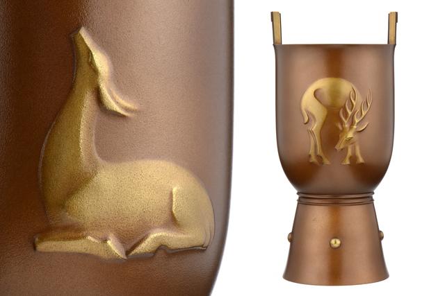 , 'Japanese Bronse Vase,' , Yumekoubou Antique