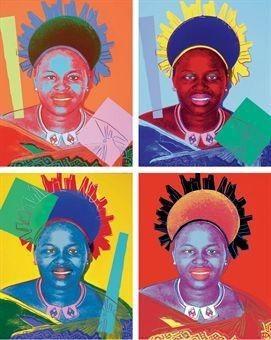 Andy Warhol, 'Queen Ntombi Twala', 1985, Gallery Sofie Van de Velde