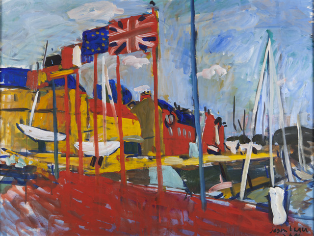 , 'Flags, St. Valerie,' ca. 2004, Childs Gallery