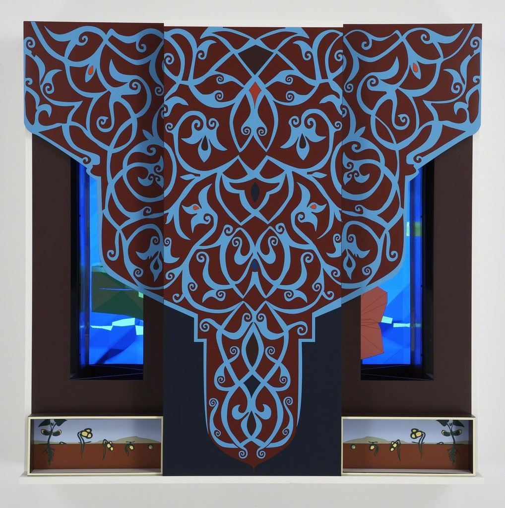 "John F. Simon, Jr., ""Tree"", 2007"